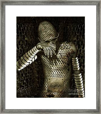 Mr. K Framed Print by Alexei Solha