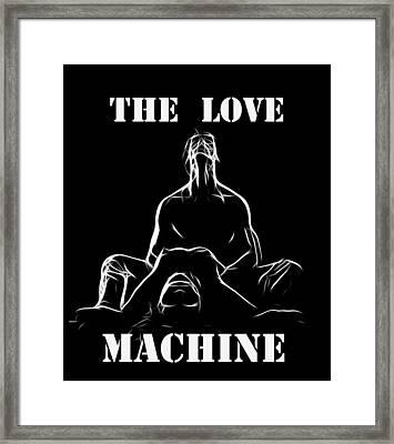 Mr Lover Lover Framed Print by Steve K
