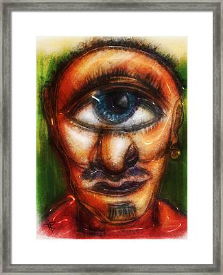 Mr. Myopic Framed Print