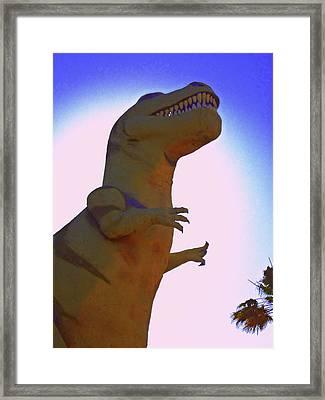 Mr. Rex 1 Framed Print by Randall Weidner