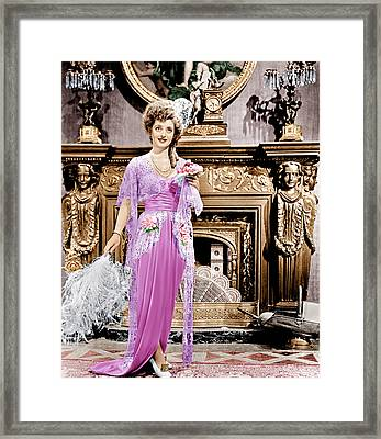 Mr. Skeffington, Bette Davis, 1944 Framed Print