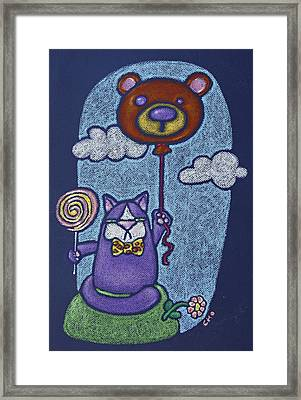 Mr Wooger Framed Print by wendy CHO
