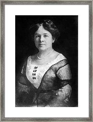 Mrs. Henry Ford, Nov 24, 1915 Framed Print by Everett