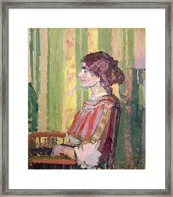 Mrs Robert Bevan Framed Print