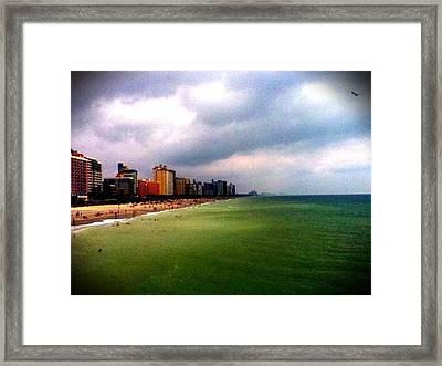 Mrytal Beach Framed Print by Jordan Jackson