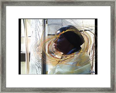 Ms Barbara Portrait 2012 Framed Print by Feile Case