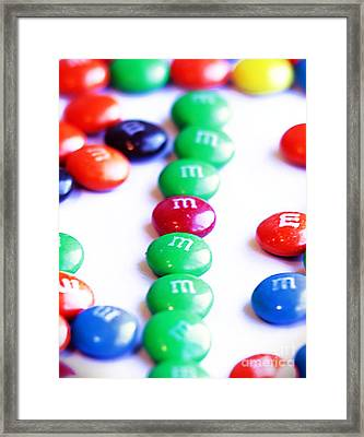 M's Framed Print by David Taylor