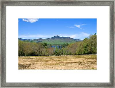 Mt. Chocorua Spring Two Horizontal Framed Print by Larry Landolfi
