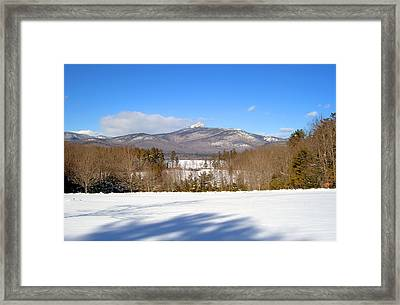 Mt. Chocorua Winter Two Horizontal Framed Print by Larry Landolfi