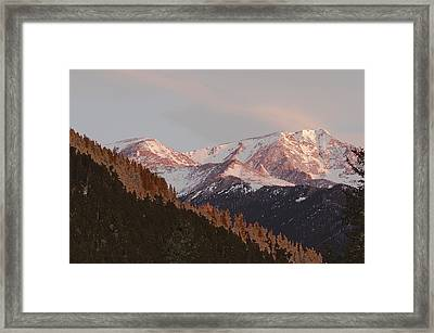 Mt Epsilon Framed Print