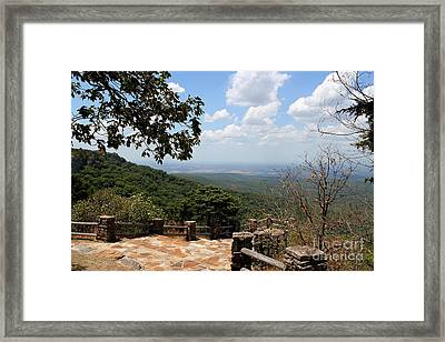 Mt Magazine Vista Framed Print by Theresa Willingham