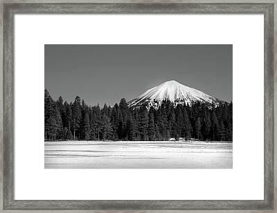 Mt. Mcloughlin Framed Print by Brandon Goldman