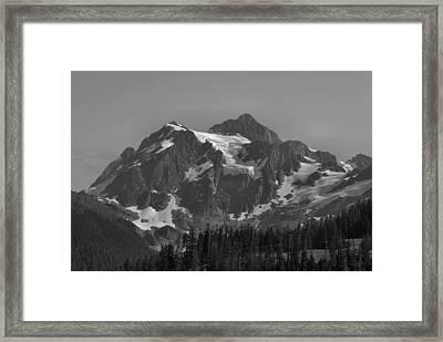 Mt. Shuksan Framed Print