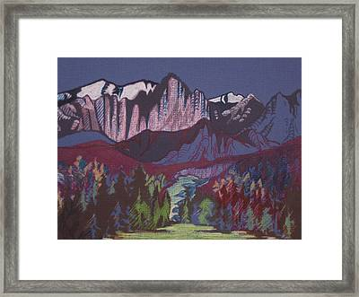 Mt Whitney Framed Print