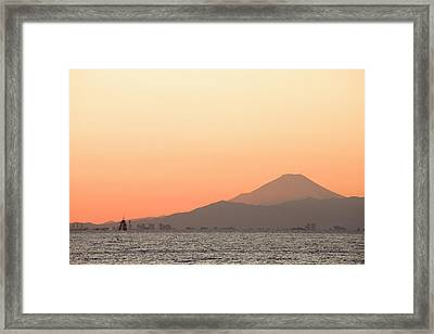 Mt.fuji Framed Print by Sachiko's photography