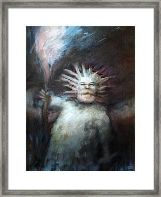 Mtnman Framed Print by Ethan Harris