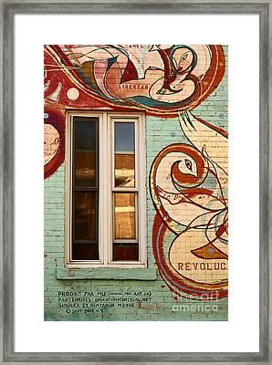 Mu Wall Framed Print by Aimelle