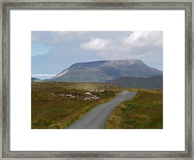Muckish Mountain Framed Print