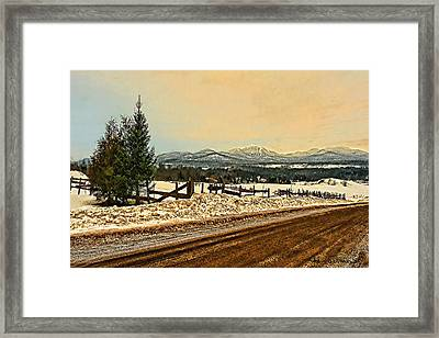 Mud Season Framed Print
