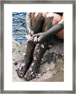 Mud Socks Framed Print