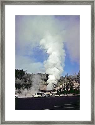 Mud Volcano Framed Print by Rod Jones