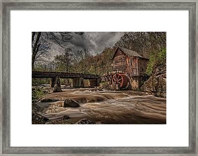 Muddy Water Framed Print by Wade Aiken