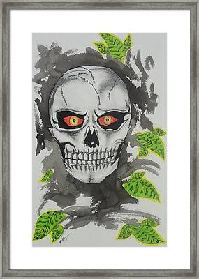 Muerte Framed Print by Manny Chapa