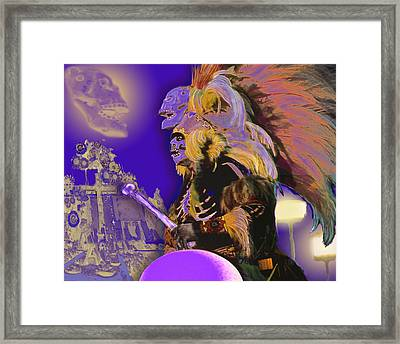 Muerto Framed Print