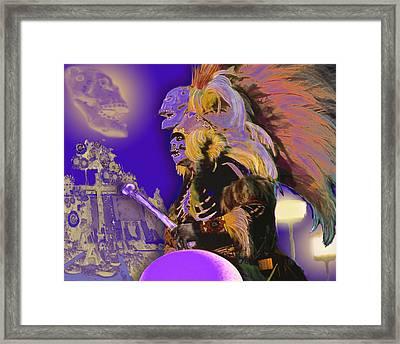 Muerto Framed Print by Alice Ramirez
