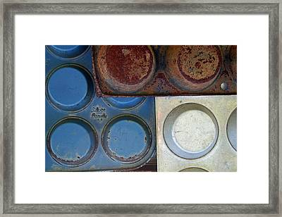 Muffin Tins Framed Print
