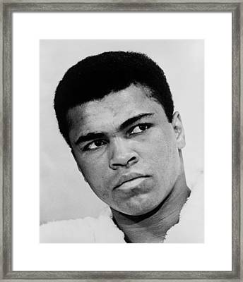 Muhammad Ali B. 1942, In 1967, The Year Framed Print by Everett