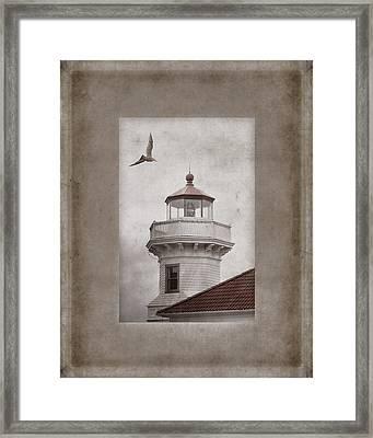 Mukilteo Light Washington Framed Print by Carol Leigh