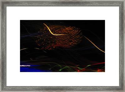 Multi Firework Framed Print