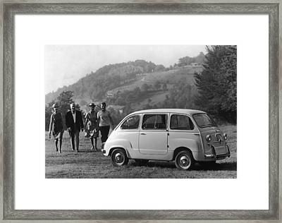 Multipla 4 Framed Print by Archive Photos