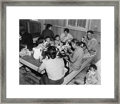 Multiple Generations Of Japanese Framed Print by Everett