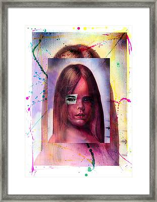Multiple Personalities Framed Print by Hans-ulrich Osterwalder