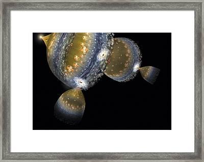 Multiple Universes, Artwork Framed Print by Henning Dalhoff