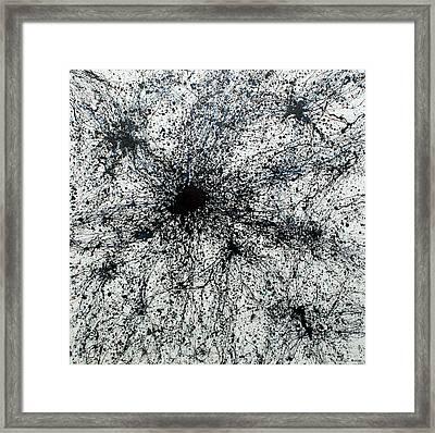 Multipolar Framed Print by Ericka Herazo