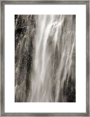 Multnomah Cascade 4 Platinum Framed Print