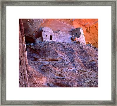 Mummy Ruin Canyon De Chelly Framed Print by Bob Christopher