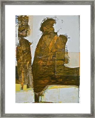 Mummy Shunt Framed Print by Cliff Spohn
