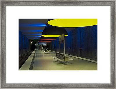 Munich Subway No.3 Framed Print