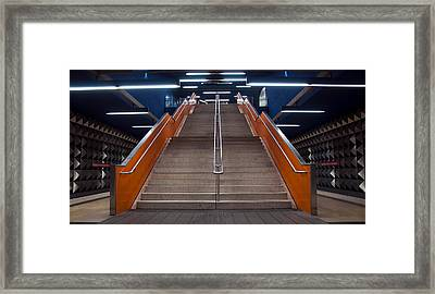 Munich Subway No.4 Framed Print by Wyn Blight-Clark