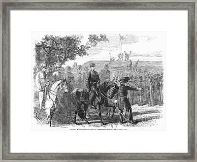 Munsons Hill, 1861 Framed Print by Granger