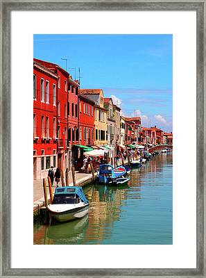 Murano, Italy Framed Print by Annhfhung