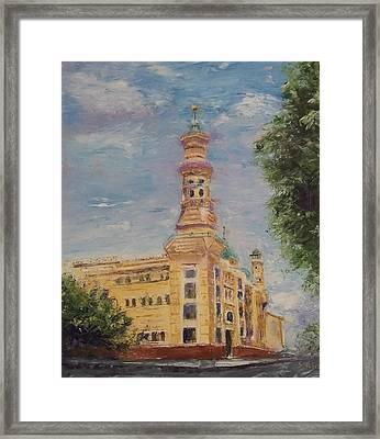 Murat Shrine Temple Framed Print