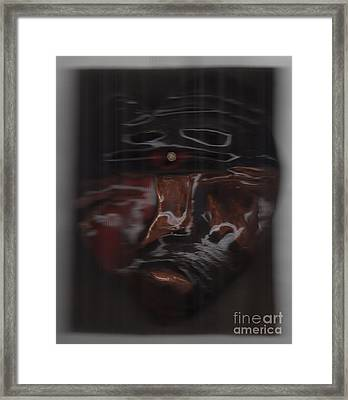 Murder By Jrr Framed Print by First Star Art