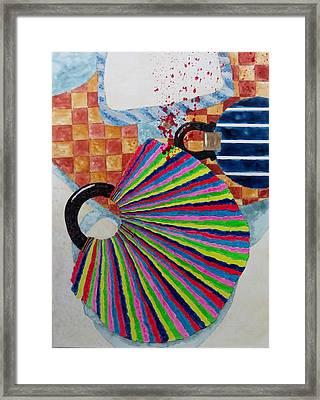 Murder She Wrote Framed Print by David Raderstorf
