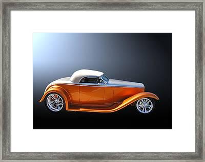 Muroc Roadster Framed Print by Bill Dutting