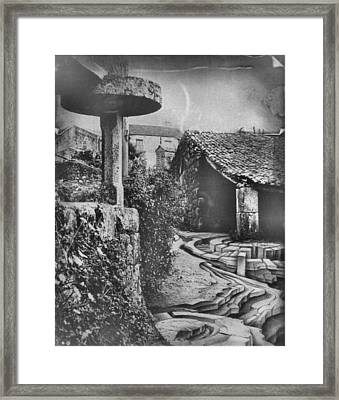 Muros Rice Storage 1982 Framed Print by Glenn Bautista
